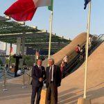 Expo Dubai, presidente Gksd Kamel Ghribi visita Padiglione Italia