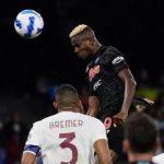 Napoli Torino 1 0, Osimhen gol e Spalletti vola a punteggio pieno