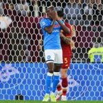 Roma Napoli 0 0, azzurri frenano: Milan aggancia primo posto