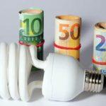 Energia elettrica, prezzi in aumento