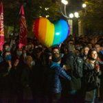A Milano in 10mila all'Arco della Pace contro stop al Ddl Zan